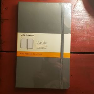 Moleskine Ruled Notebook (Gray in color)